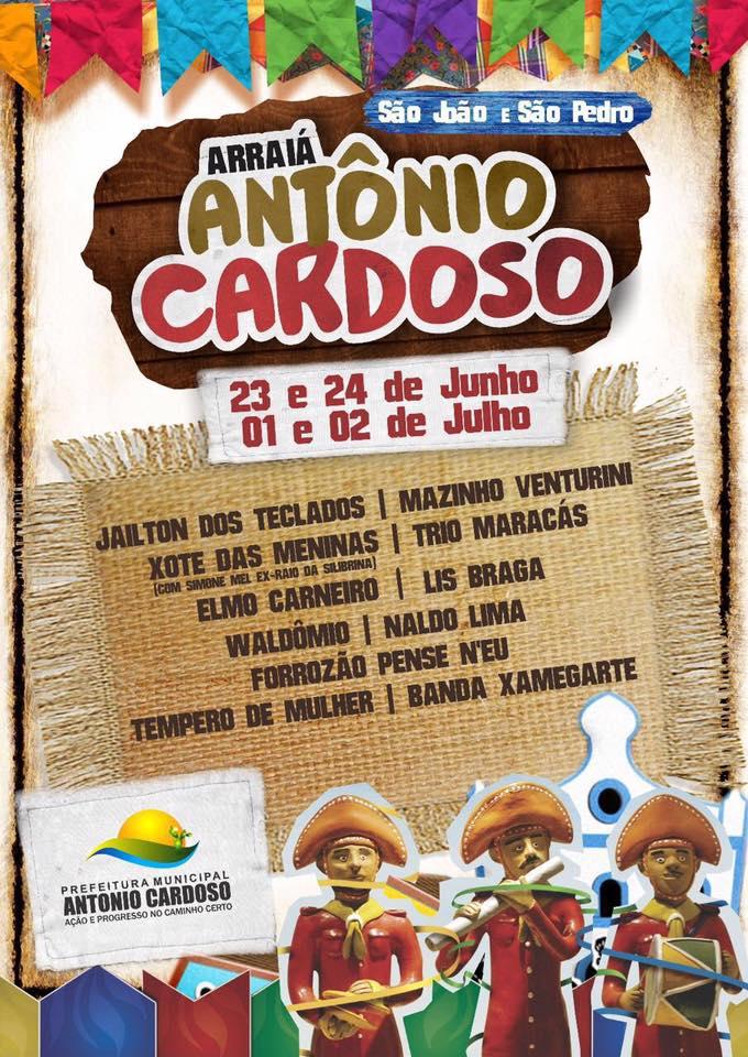 Sao Joao e Sao Pedro - Antonio Cardoso, Ba