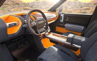 Toyota FT-4X SUV Concept Interior