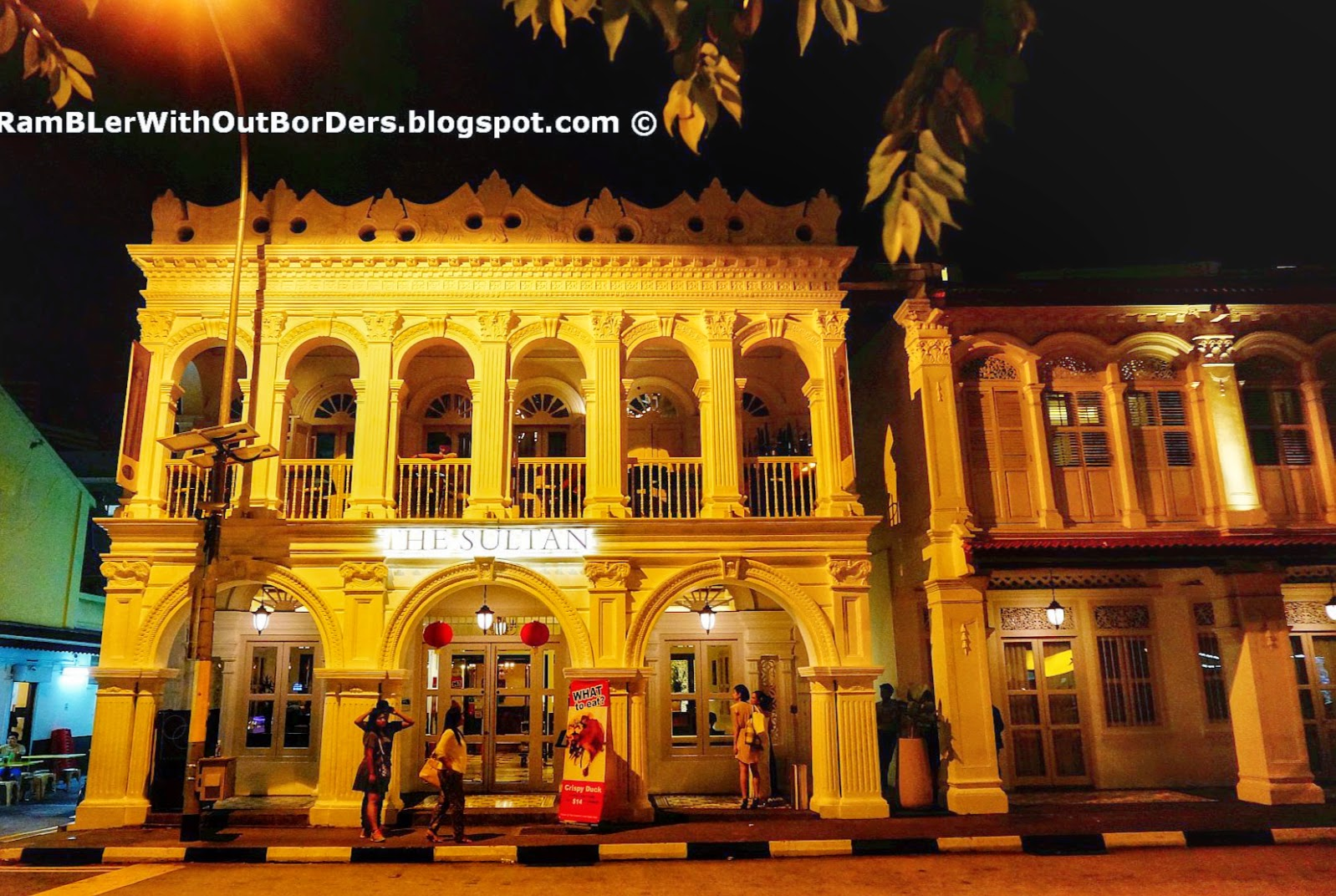The Sultan Hotel, Kampong Glam, Singapore