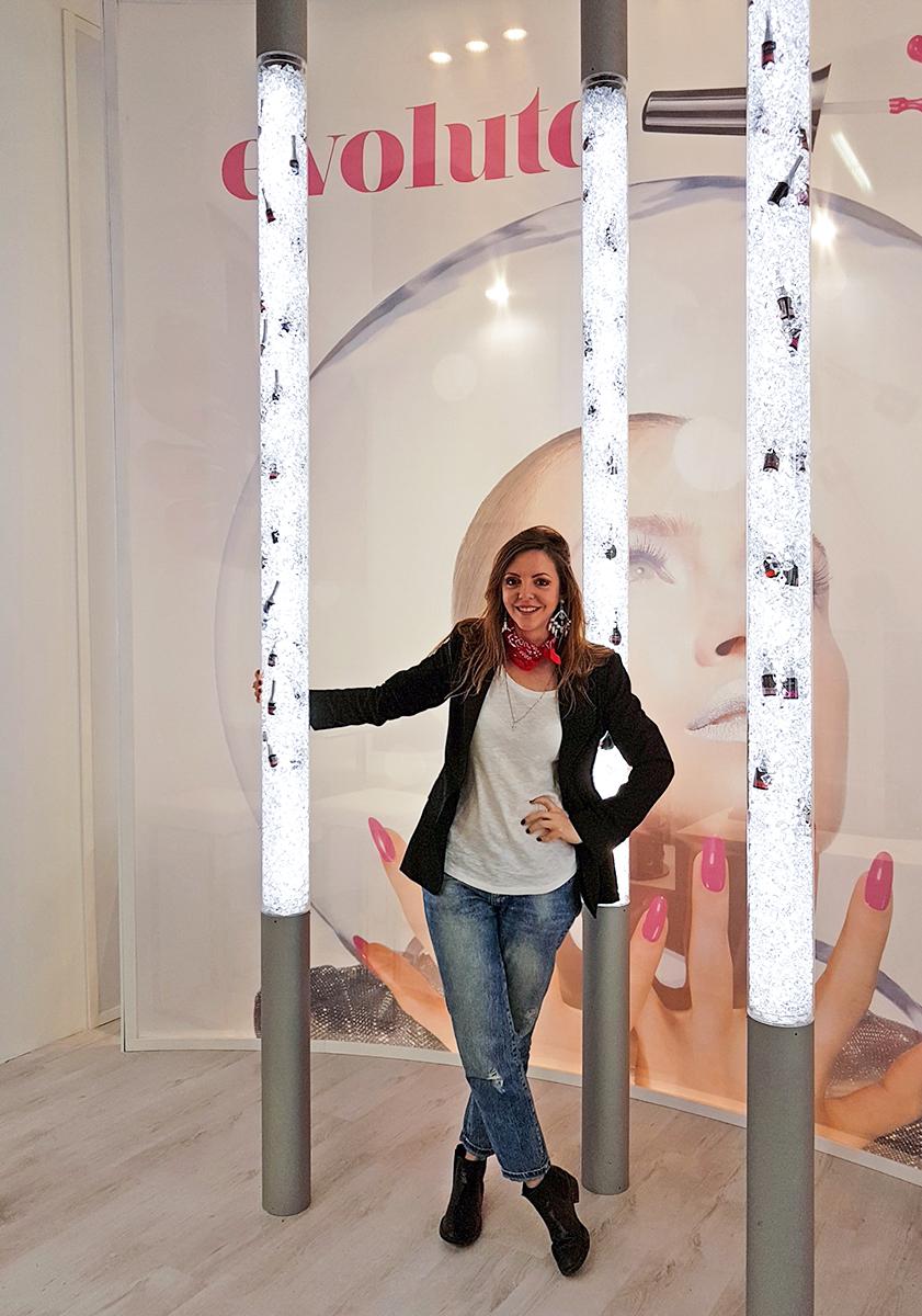 Francesca Focarini blogger Cosmoprof