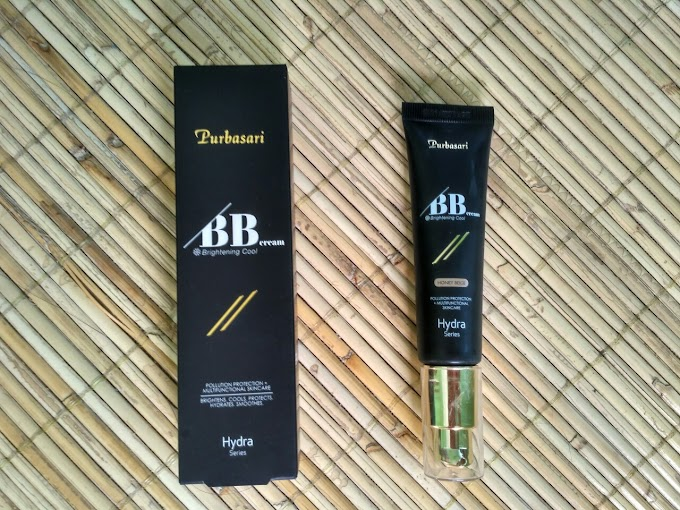 Review Purbasari BB Cream Hydra Series varian Honey Beige