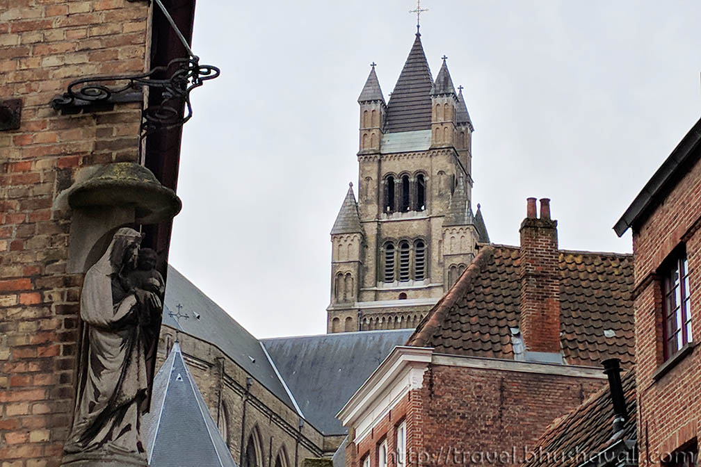 Churches Of Brugge Flanders Belgium My Travelogue