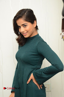 Actress Aparna Bajpai Latest Pictures in Green Dress  0038.JPG