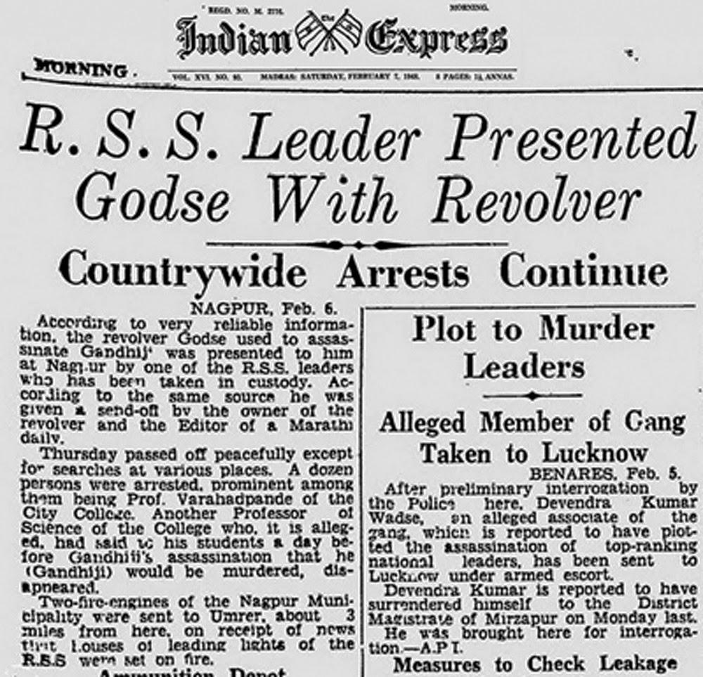Escrito con Sangre... ¡El Website de los Asesinos!: Nathuram Godse y ...