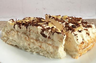 Ciasto kokosowe z kremem z mascarpone