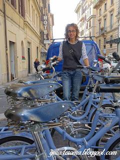 bairro monti tour portugues bicicletas - O bairro Monti em Roma