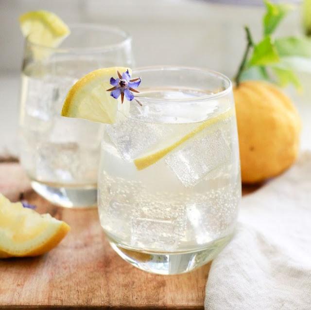 Limoncello Spritzer #lemon #cocktails