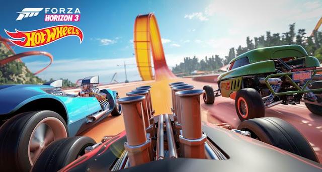 عرض جديد للاضافة القادمة للعبة Forza Horizon 3 بعنوان Hot Wheels