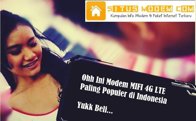 Inilah Daftar Harga Modem MIFI 4G LTE Support All Operator Paling Populer di Indonesia