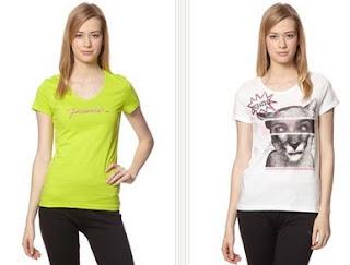 Modelos de camisetas de Puma para mujer disponibles