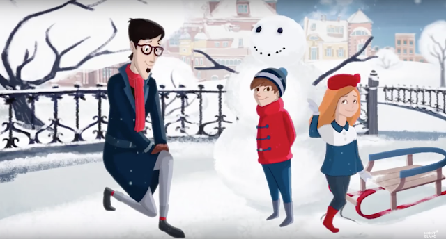 Montblanc's Animated Holiday Video