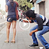 Making MMS of Girl in Public