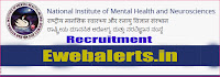 NIMHANS Recruitment
