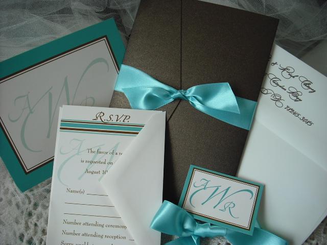 Wedding Invitations Tiffany Blue: * Misstyle Look *: Tiffany Wedding