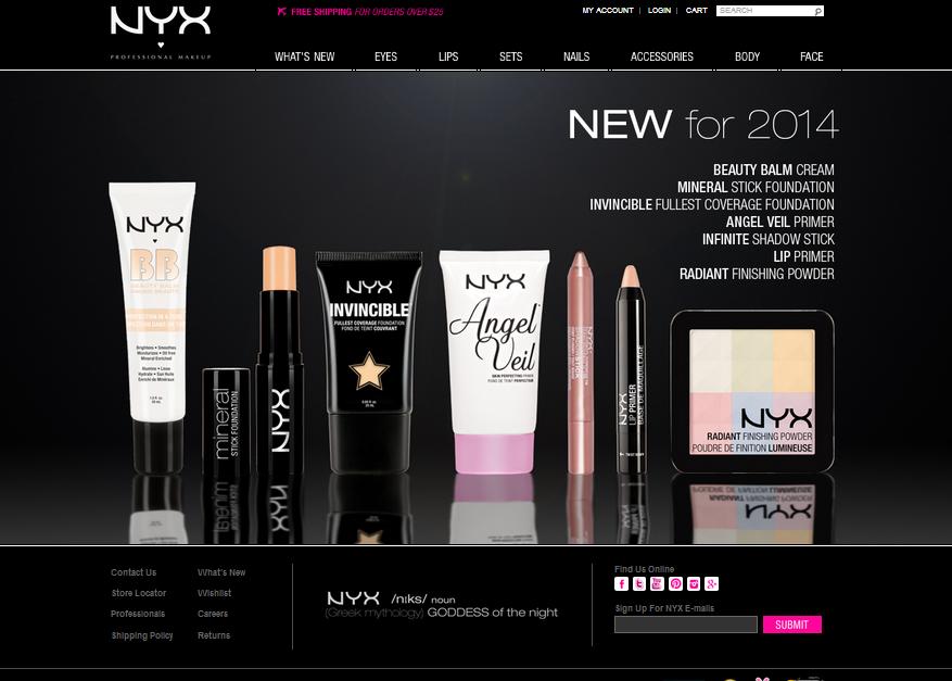 Makeup sites