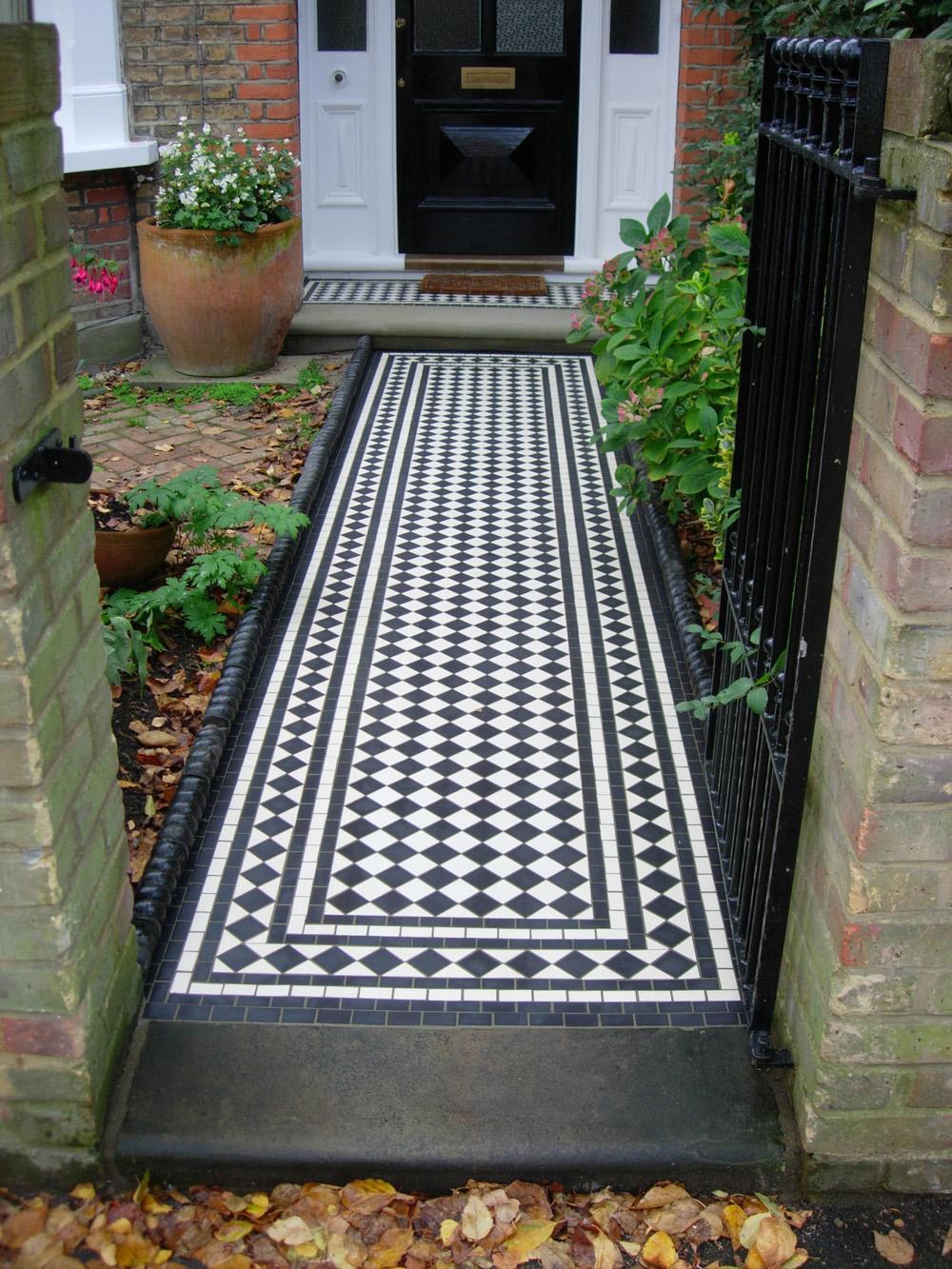 Stone Porch Steps: Blenstone-Stone Specialists: Victorian Mosaics