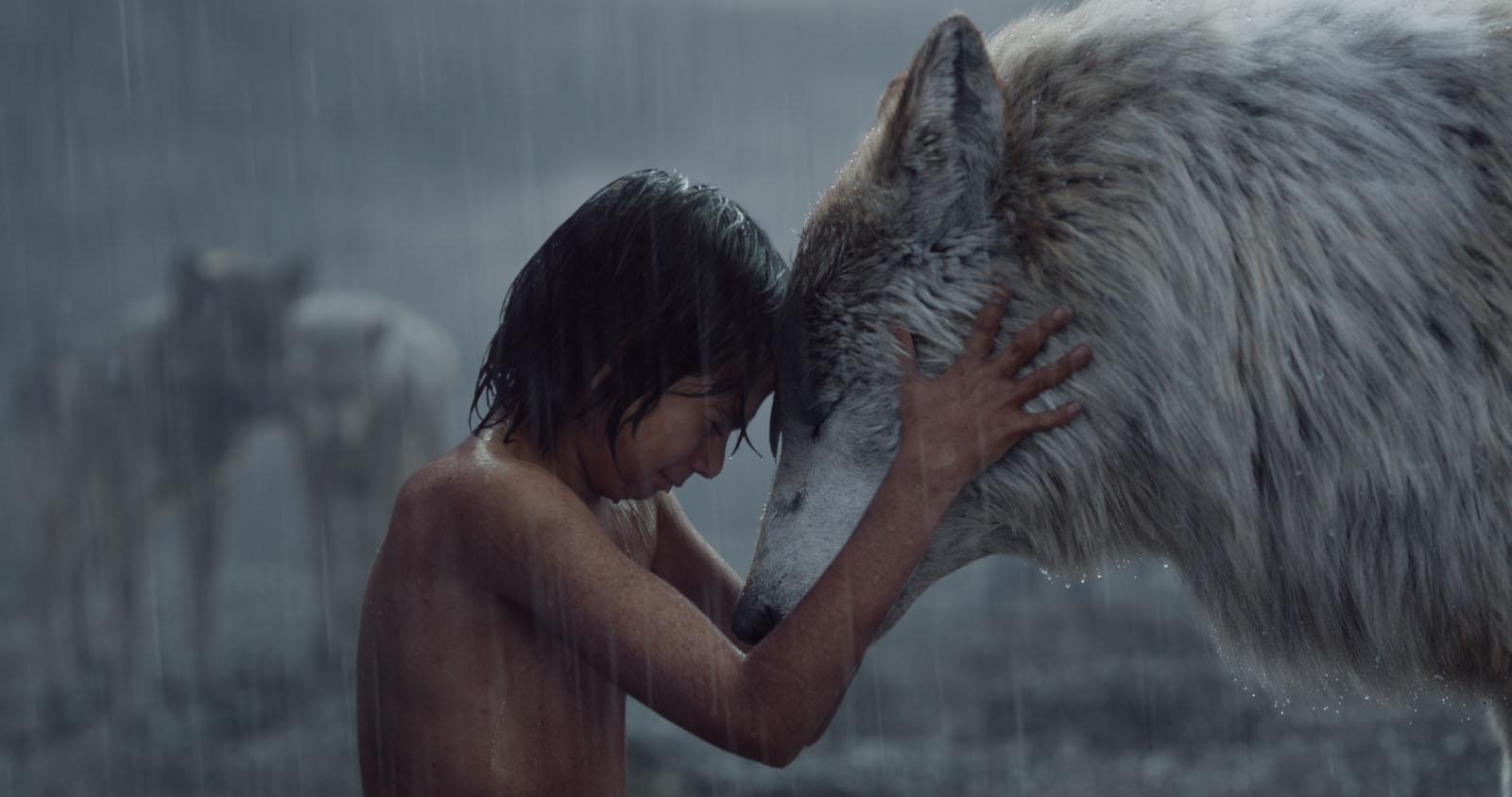 Mowgli y Raksha