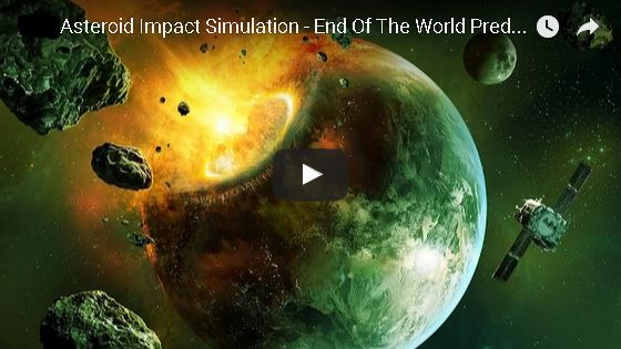 Asteroid Impact Simulation - End Of The World Predictions ...