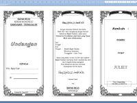 Contoh Undangan Format Word Lengkap untuk Berbagai Acara