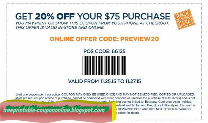 Rack warehouse discount coupons