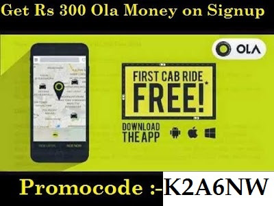 Ola Sign up | Referral Code