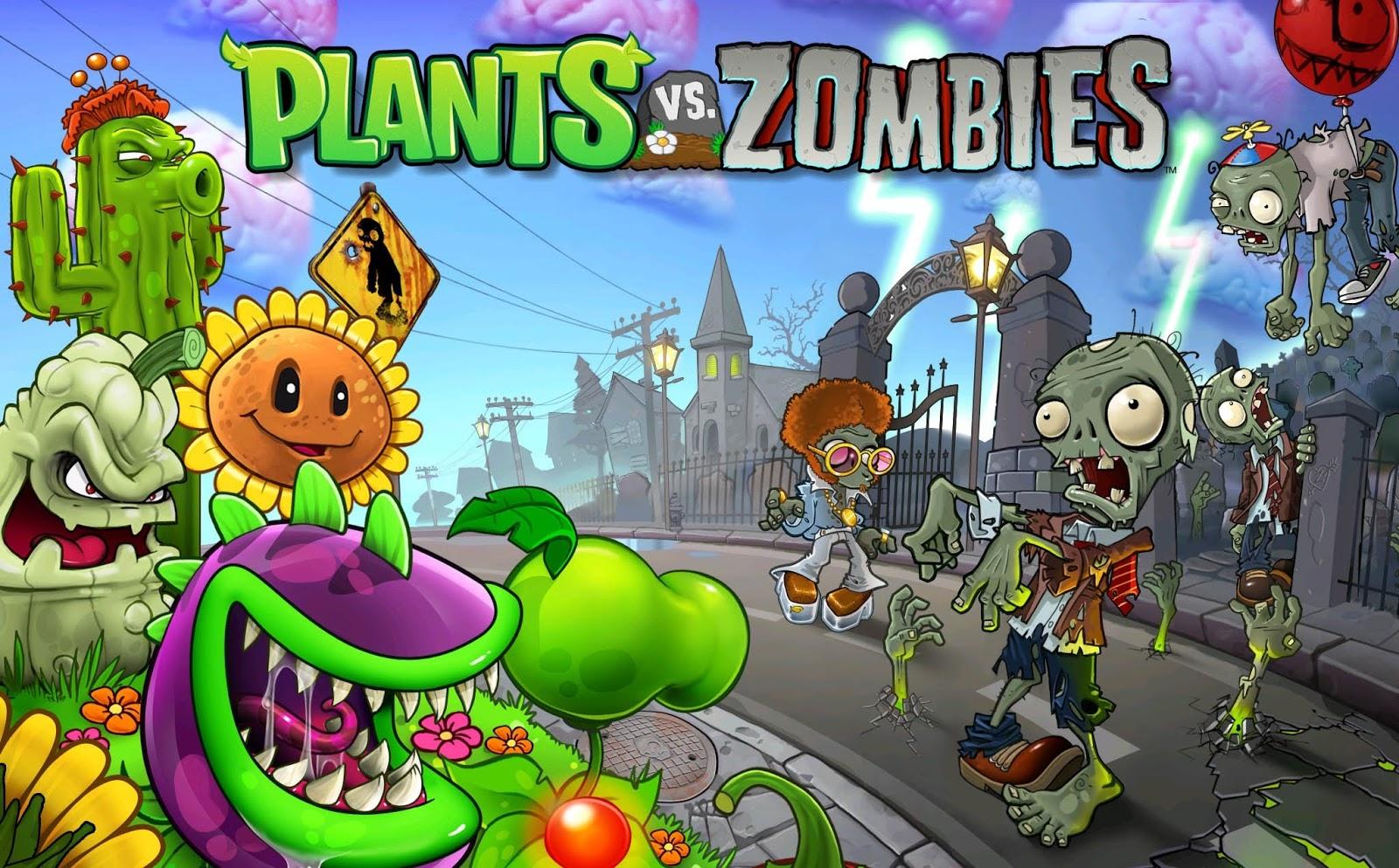 لعبة النباتات ضد الزومبي 2 كاملة بدون تحميل