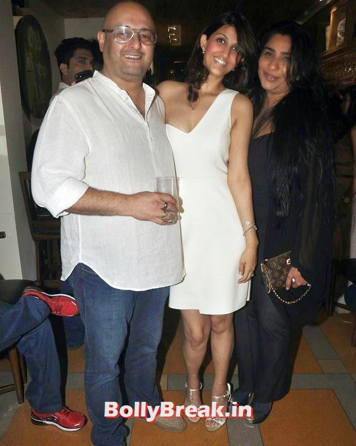 Raju Singh, Akanksha Malhotra, Sherley Singh, Hot Indian Chics Pics from Vatsal Seth's Birthday Bash
