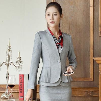Elegan Blazer Formal Untuk Kerja
