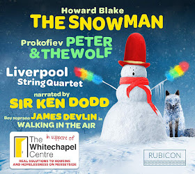 Howard Blake: The Snowman - THe Liverpool String Quartet - Rubicon
