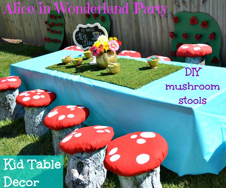 Eccezionale The Everyday Momma: Alice in Wonderland Birthday Party JE38