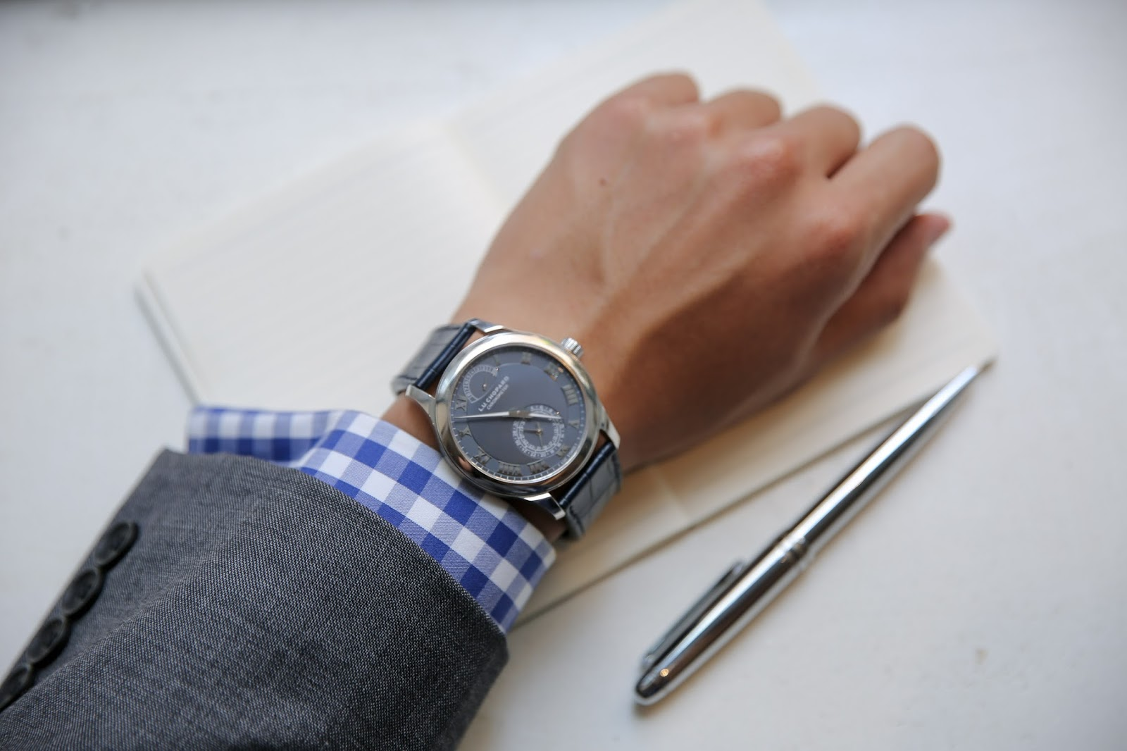 Levitate Style menswear Modern Gentlemen with Chopard L.U.C Collection
