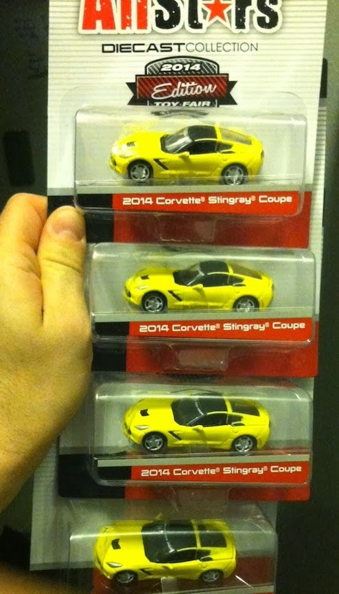 GIVEAWAY: Toy Fair Exclusive Maisto 1:64-scale Corvettes