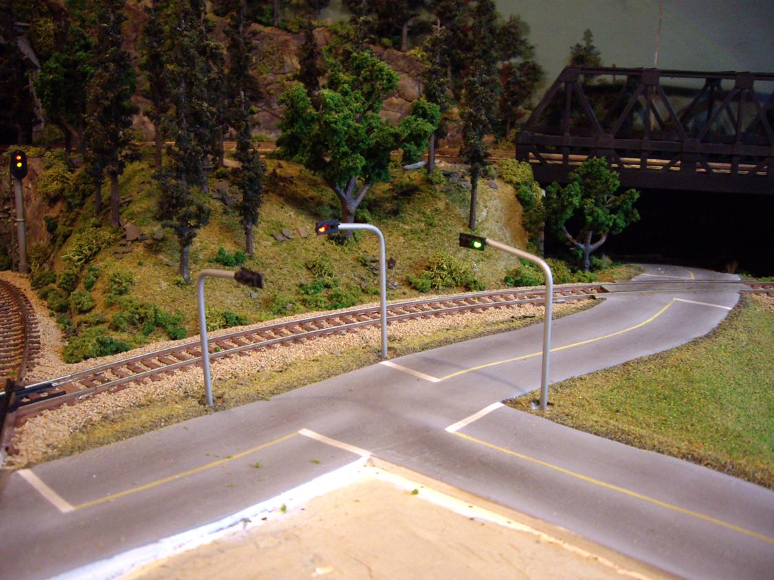 Model Train Circuits Traffic Light Control Circuit Holidays Oo