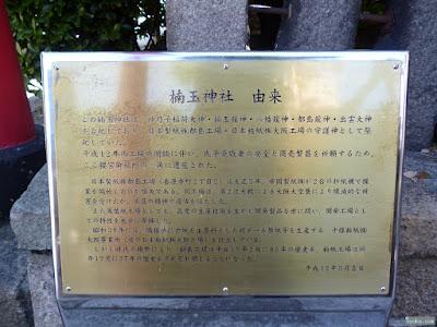 楠玉神社の由来