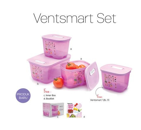 Tupperware Ventsmart Set