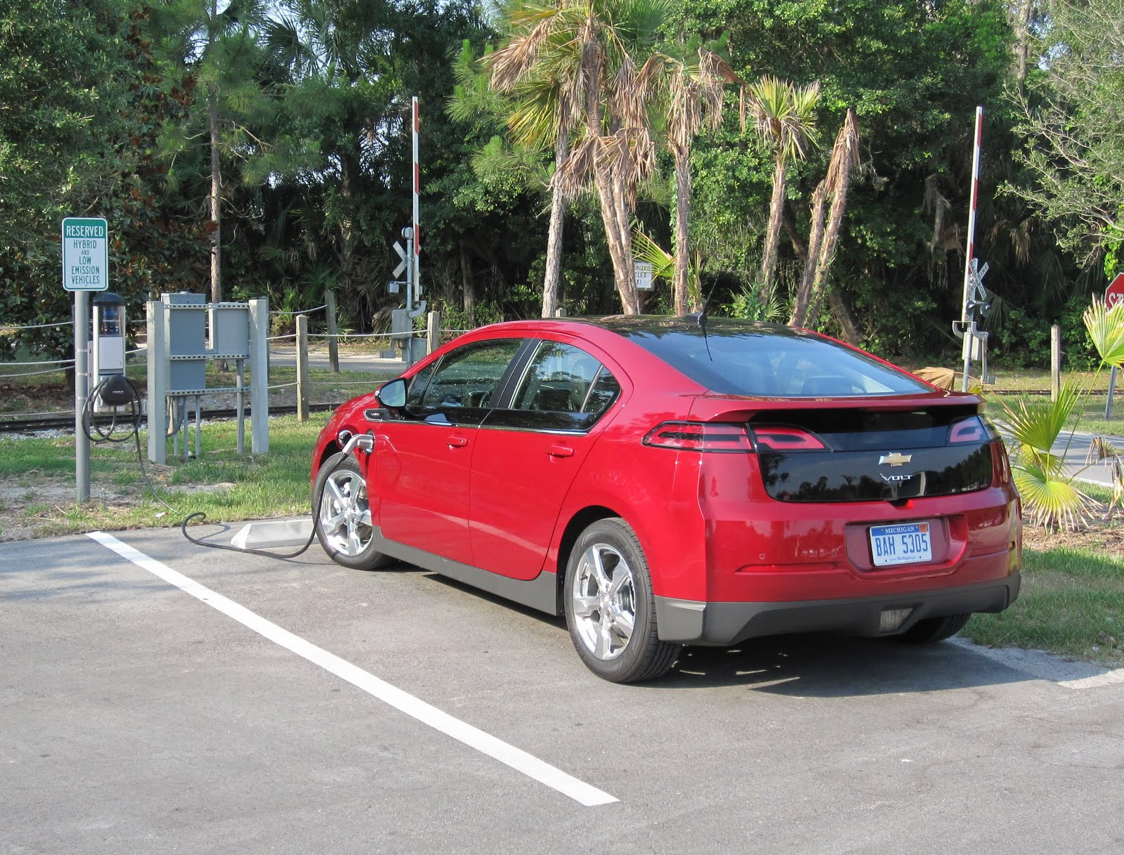 Recharge 4 Days With A Chevy Volt