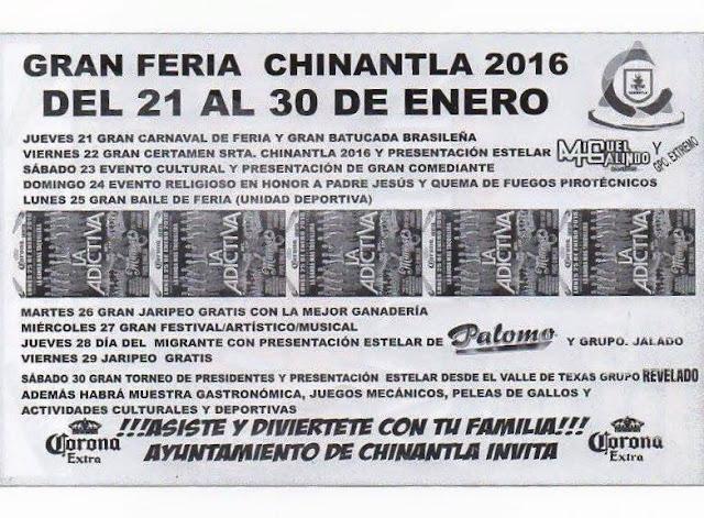 feria chinantla 2016