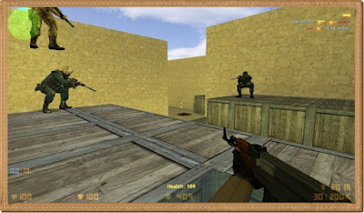Counter Strike 1.6 PC Games Gameplay