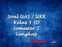 Soal UAS / UKK Kelas 3 SD Semester 2 Lengkap