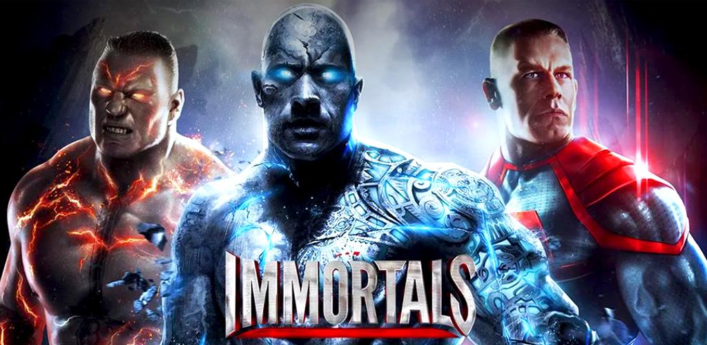 تحميل لعبة wwe immortals مهكرة للاندرويد