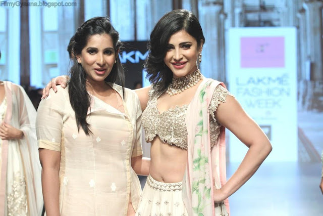 shruthi hassan with anushree reddy pic