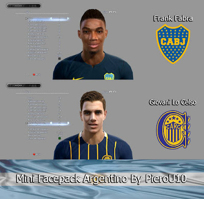 PES 2013 Mini Facepack Argentino By PieroU10