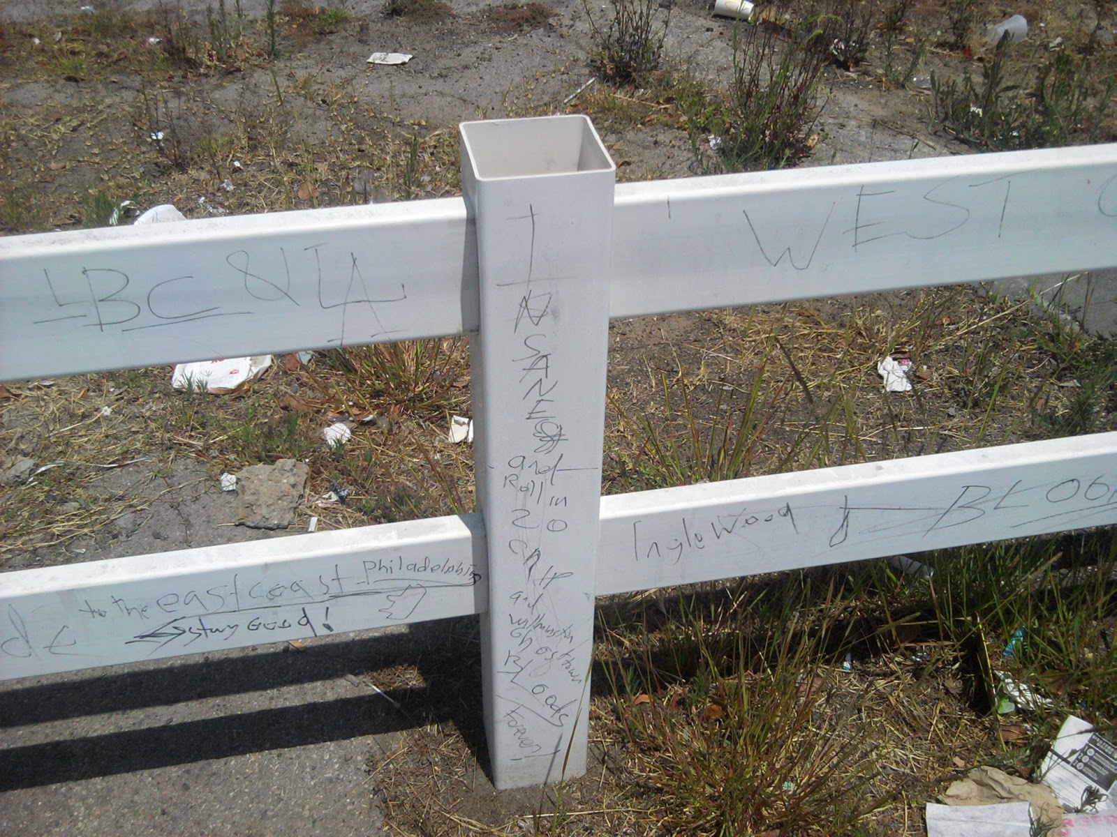 Long Beach Gang Graffiti: Rollin 20s NeighborHood Bloods – Billy Knight