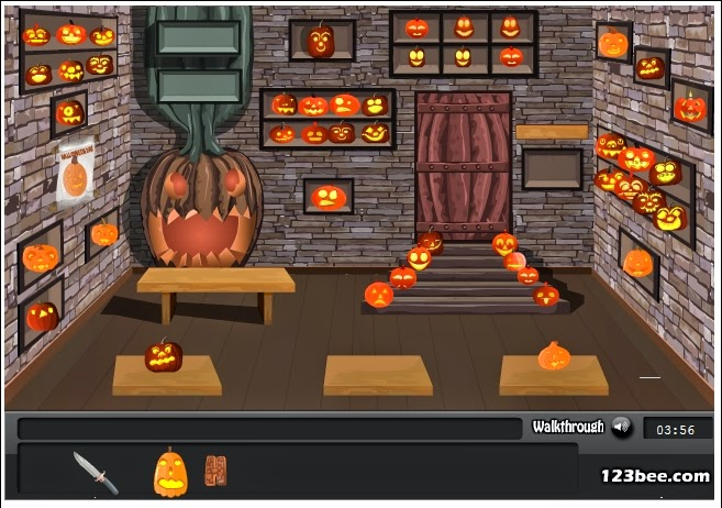 http://www.123bee.com/play/halloween_pumpkin_room/4902.html
