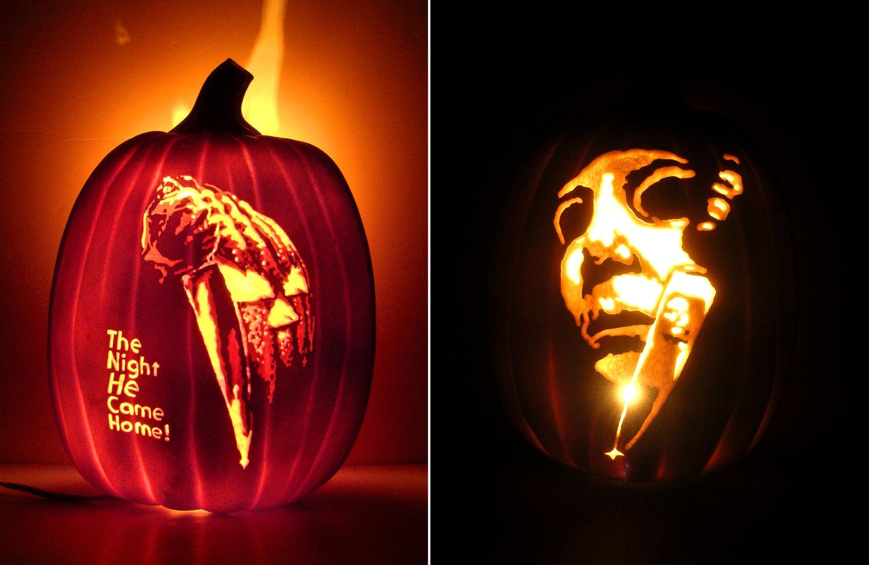 halloween foam pumpkins