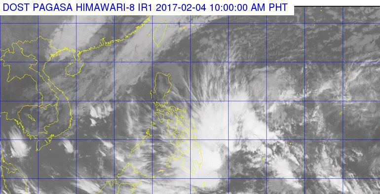 'Bagyong Bising' PAGASA weather update February 4, 2017