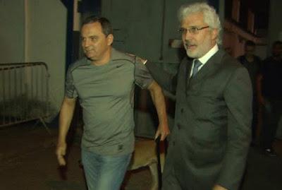 Ex-secretário Régis Fichtner deixa a prisão
