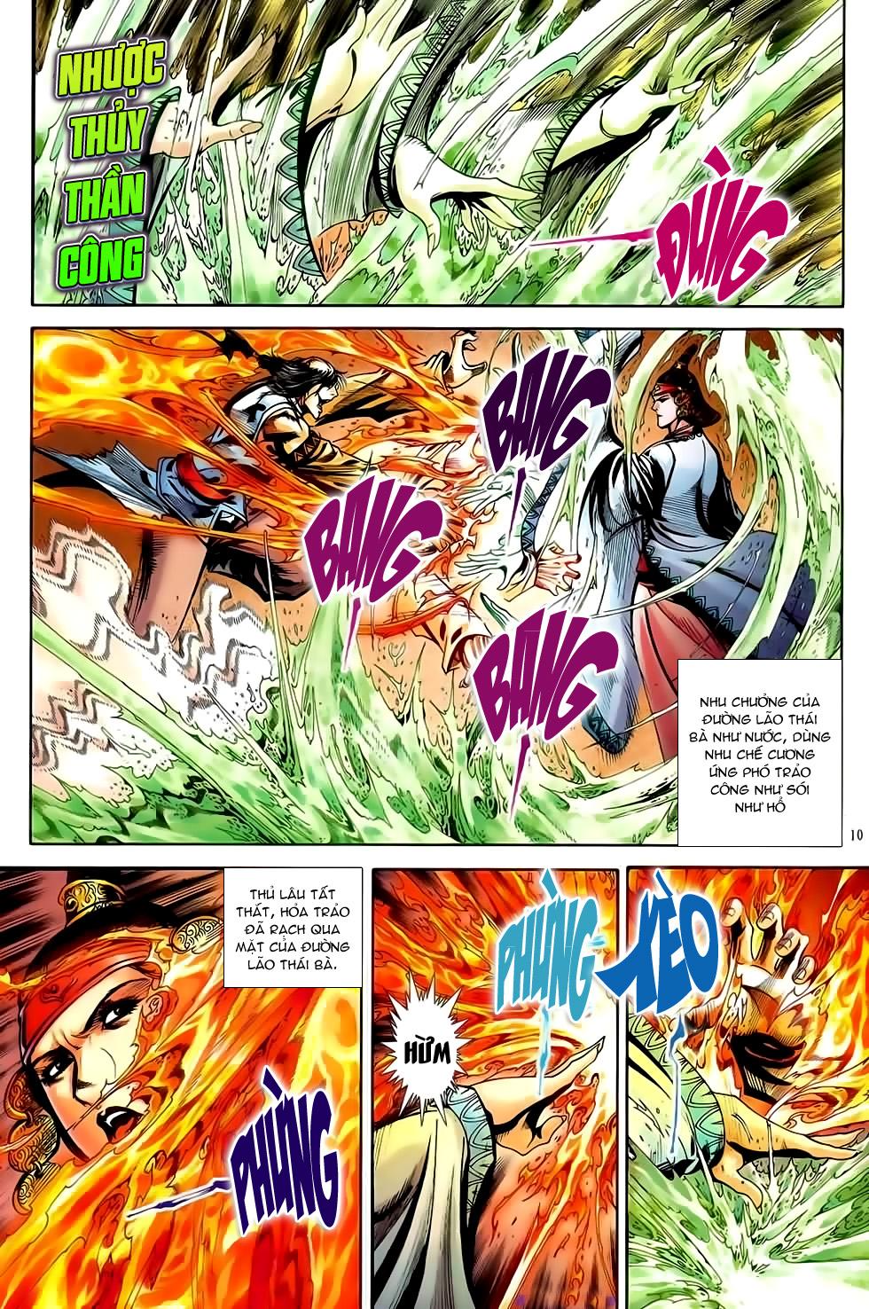 Đại Hiệp Truyền Kỳ (Thần Châu Hậu Truyện) chap 51 - Trang 9