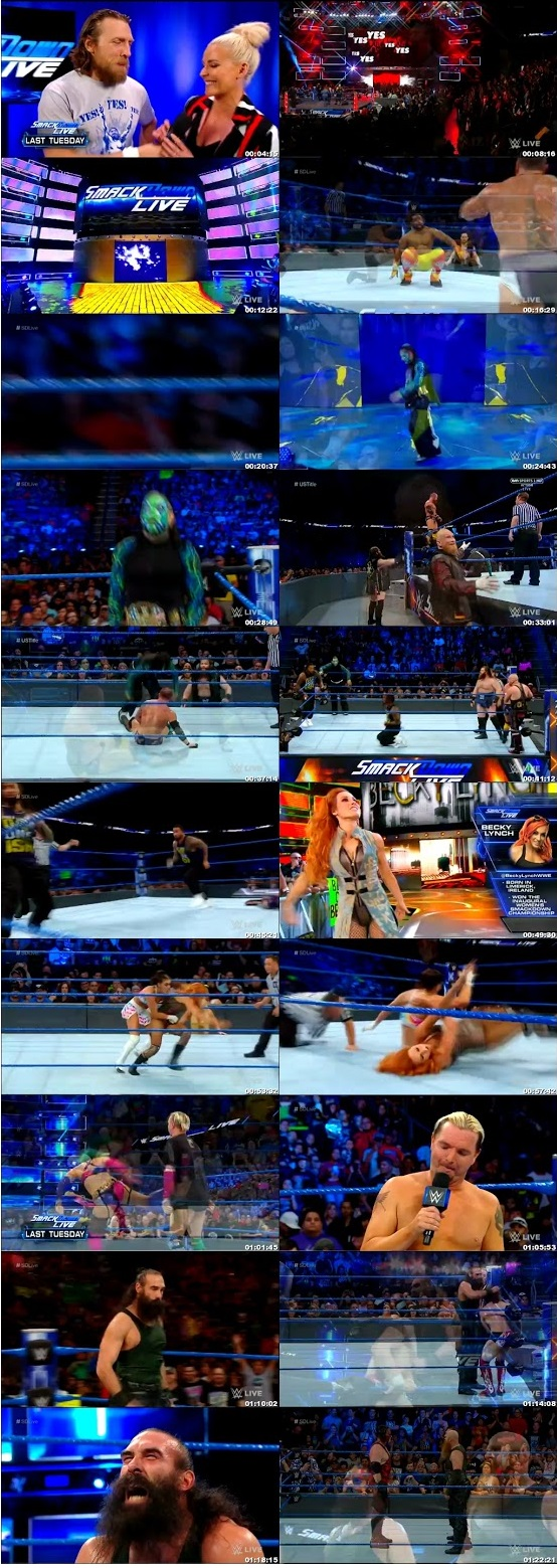 WWE Smackdown Live 27th June 2018 350MB HDTV 480p x264 2