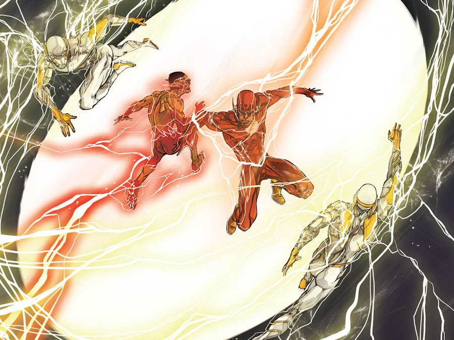 dc comics godspeed the flash wally west